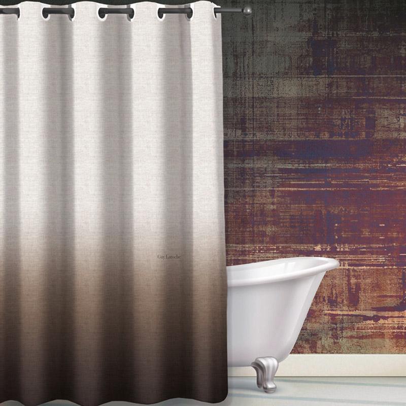 Κουρτίνα Μπάνιου 180×190 Guy Laroche Mykonos Wenge