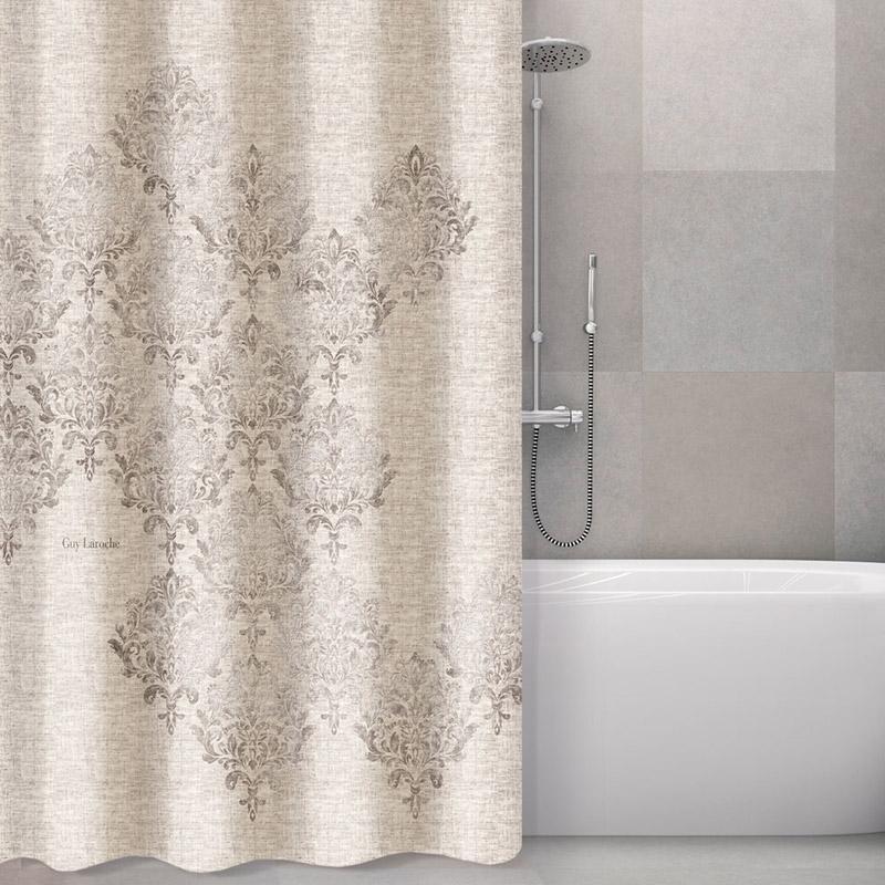 Κουρτίνα Μπάνιου 240×185 Guy Laroche Style Natural (240×185)