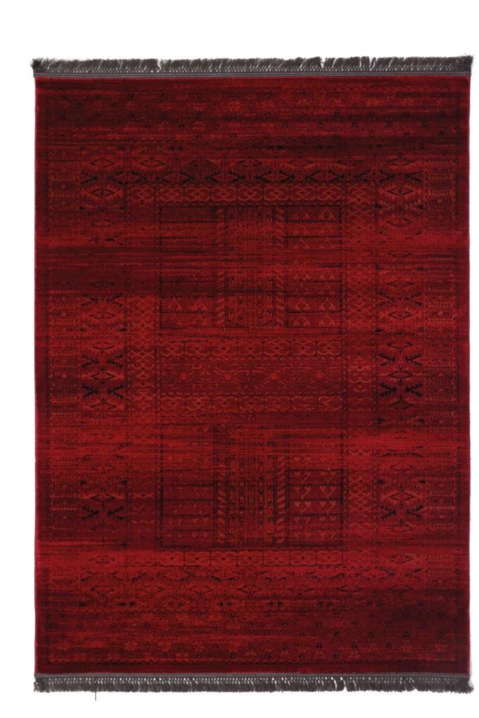 Χαλί Σαλονιού Royal Carpet Afgan 1.60X2.30 – 7504H D.Red