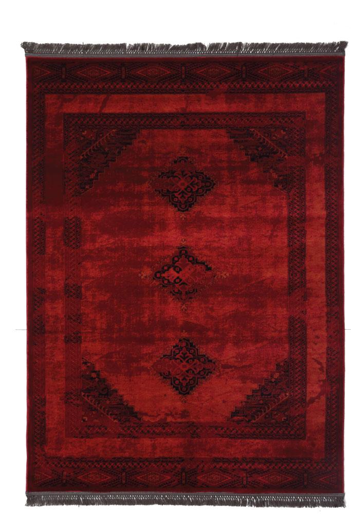 Χαλί Σαλονιού Royal Carpet Afgan 1.60X2.30 – 9870H Red