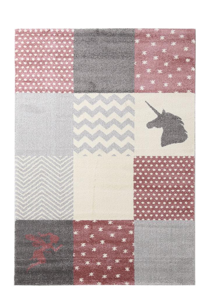 Παιδικό Χαλί Royal Carpet Galleries Dream 2.00X2.90 - Taza 2 Pink/Grey