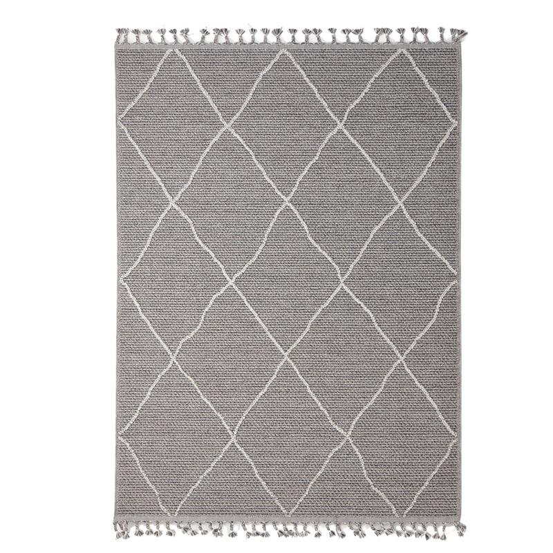 Χαλί Διαδρόμου Royal Carpet Linq 0.67X2.20 – 7439A Ivory/D.Grey