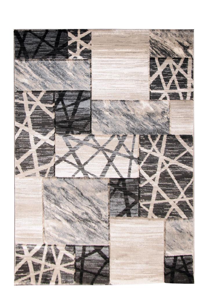 Χαλία Κρεβατοκάμαρας Σετ Royal Carpet Galleries Boston 0.66X5.20Bedset – 6323A Fume