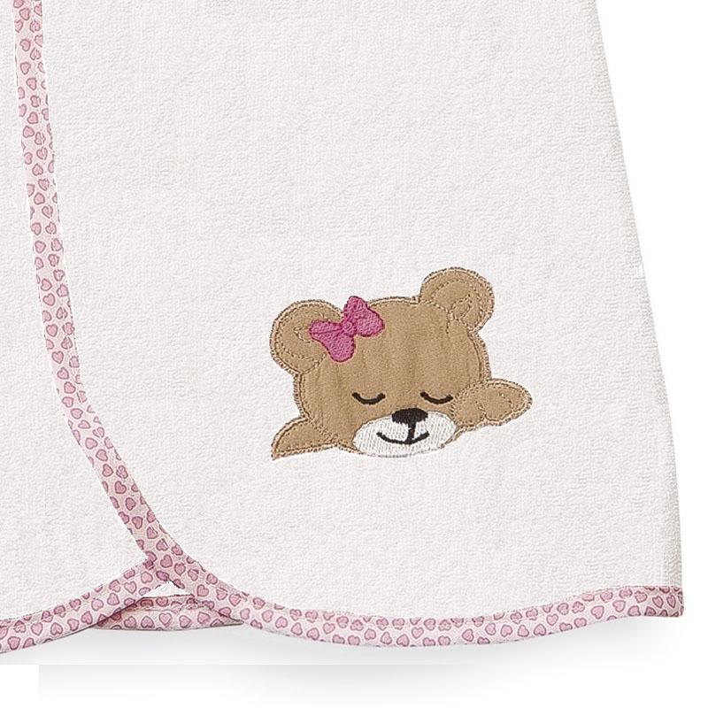 Κάπα 80X80 Dimcol Sleeping Bears Cub 12 Ροζ