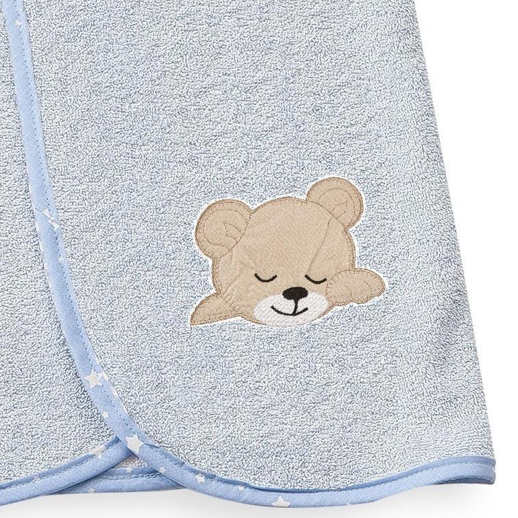 Κάπα 80X80 Dimcol Sleeping Bears Cub 13 Σιελ