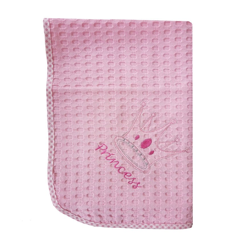 Κουβέρτα Πικέ Λίκνου 80X110 Dimcol Princess 35 Ροζ