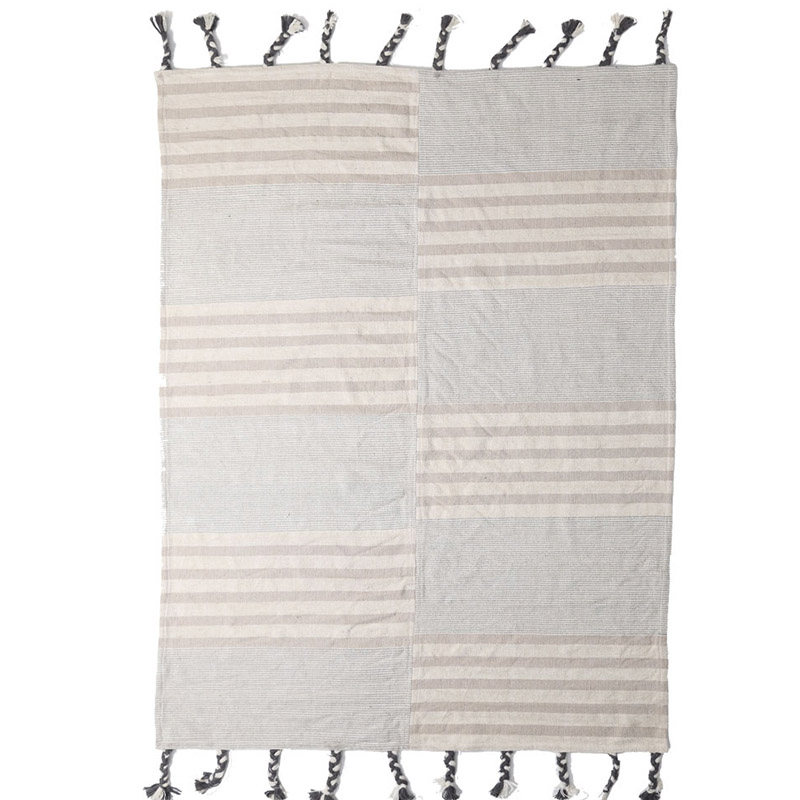 Χαλί Διαδρόμου All Season Royal Carpet Lotus Cotton Kilim 0.70X1.40 – 065 Grey
