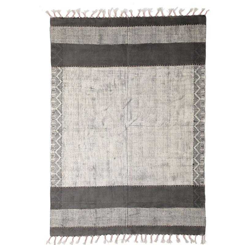 Χαλί Διαδρόμου All Season Royal Carpet Lotus Cotton Kilim 0.70X1.40 – 347 Grey