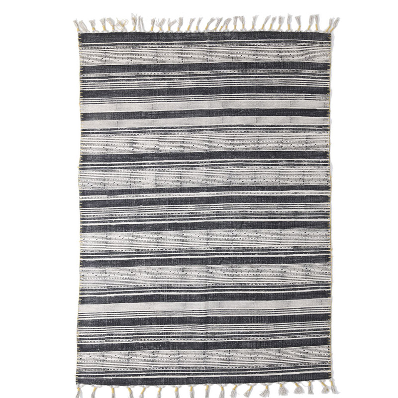 Χαλί Διαδρόμου All Season Royal Carpet Lotus Cotton Kilim 0.70X1.40 – 353 Grey