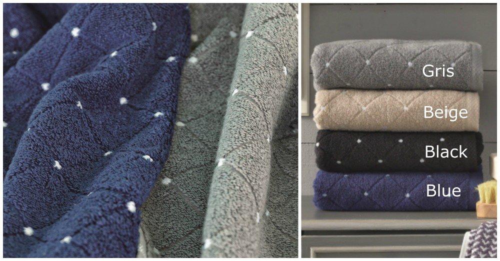Πετσέτες (Σετ 3 Τμχ) PT169 Palamaiki Premium Towels Black