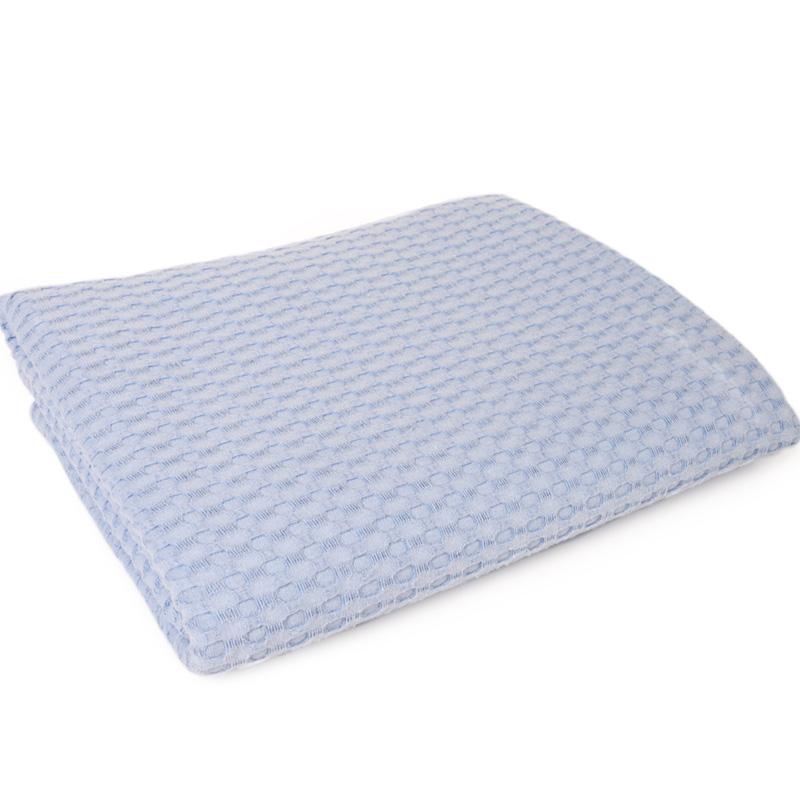 Κουβέρτα Πικέ Λίκνου 85X110 Dimcol Μονόχρωμη Σιελ