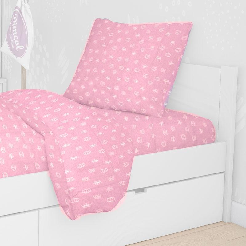 Μαξιλαροθήκη 50X70 Dimcol Princess 47 Pink