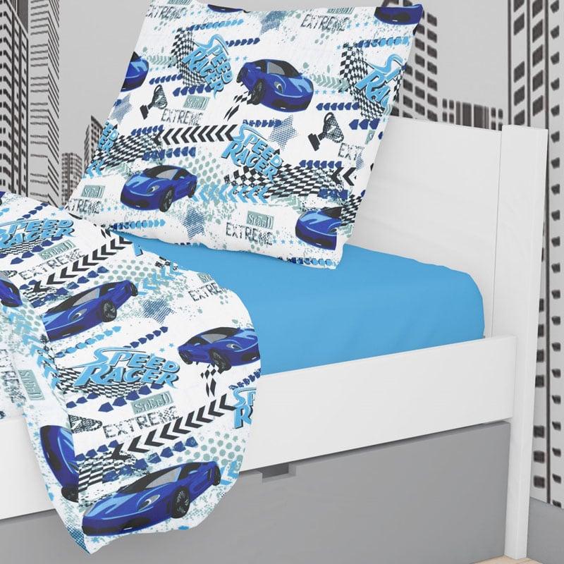 Μαξιλαροθήκη Τεμάχιο 50X70 Dimcol Speed Racer 291