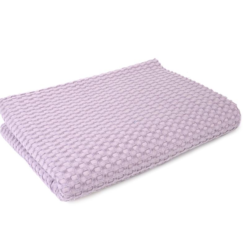 Κουβέρτα Πικέ King Size 245X255 Dimcol Μονόχρωμη Μωβ