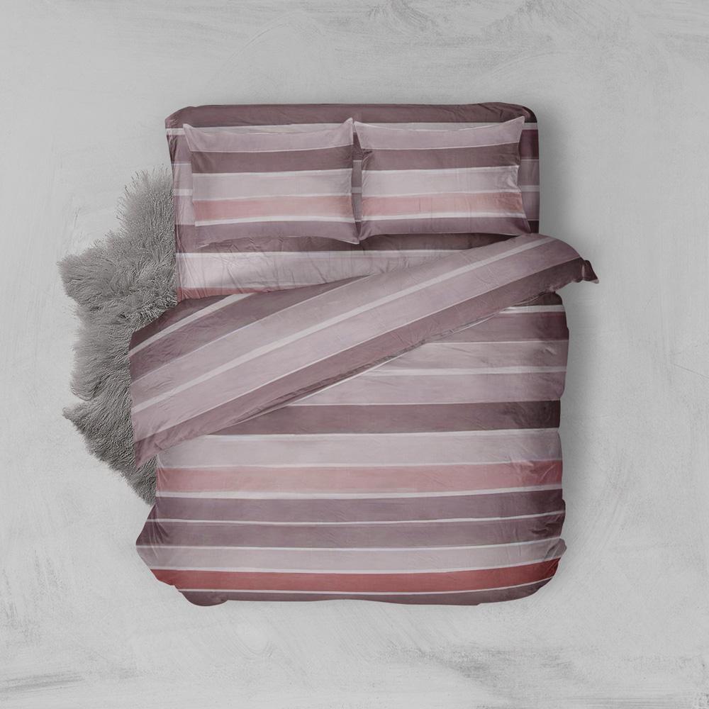 Φανελένια Σεντόνια Υπέρδιπλα (Σετ) 100% Βαμβάκι 2020 Pink