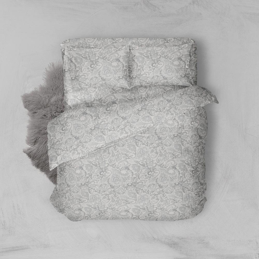 Φανελένια Σεντόνια Υπέρδιπλα (Σετ) 100% Βαμβάκι 2024 Grey
