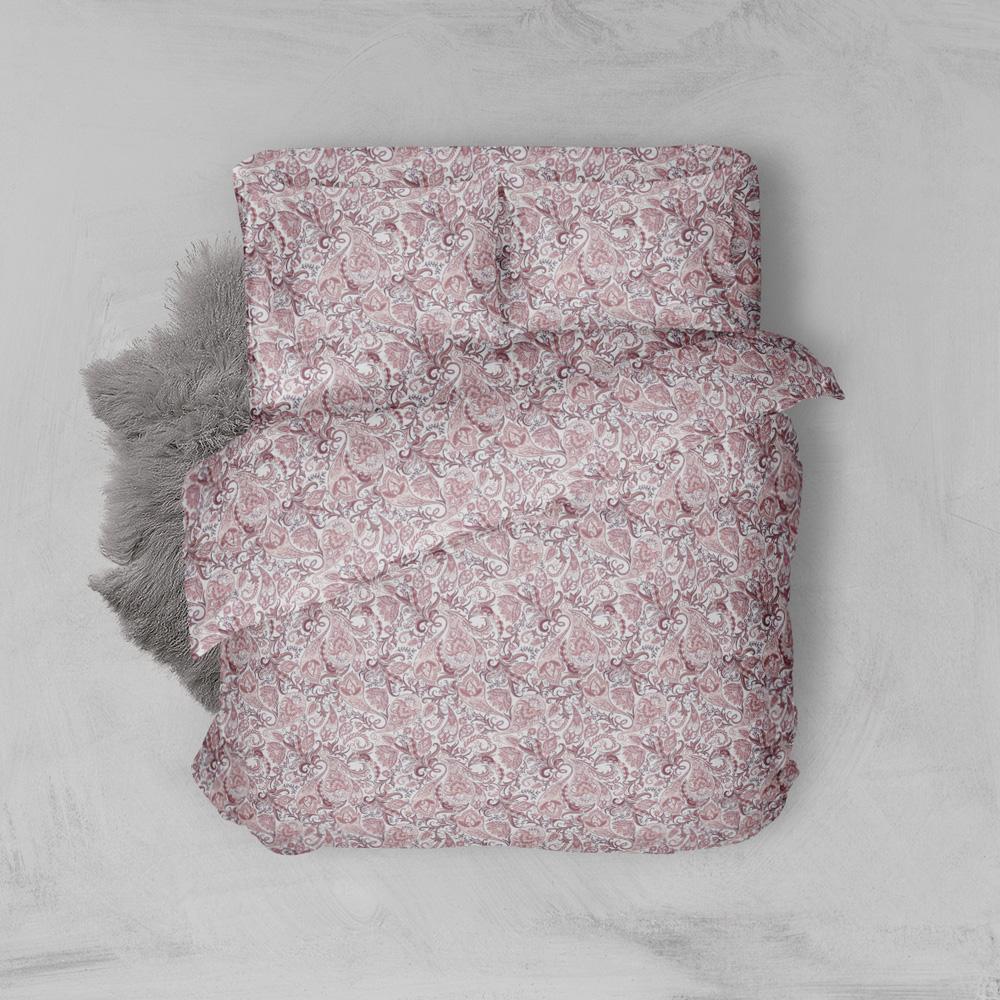 Φανελένια Σεντόνια Υπέρδιπλα (Σετ) 100% Βαμβάκι 2024 Pink