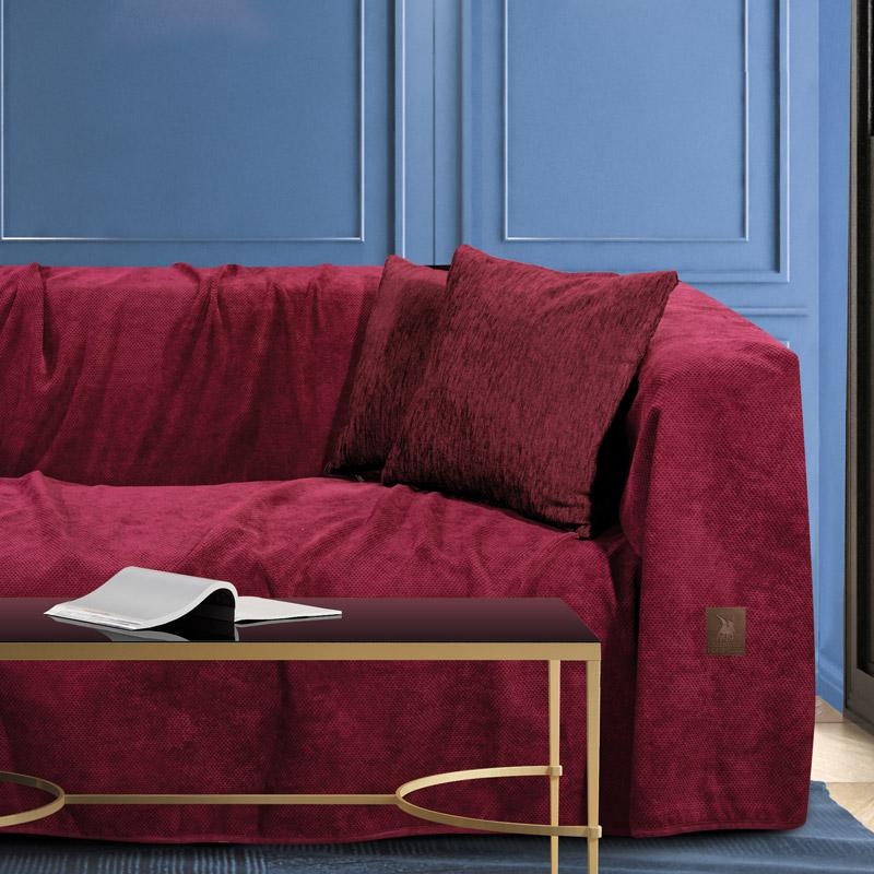 Ριχτάρι Διθέσιου 180×250 Greenwich Polo Club Premium 2735 Μπορντω