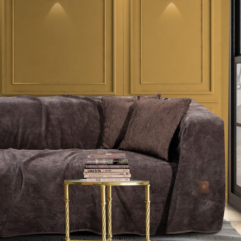 Ριχτάρι Διθέσιου 180×250 Greenwich Polo Club Premium 2736 Καφε