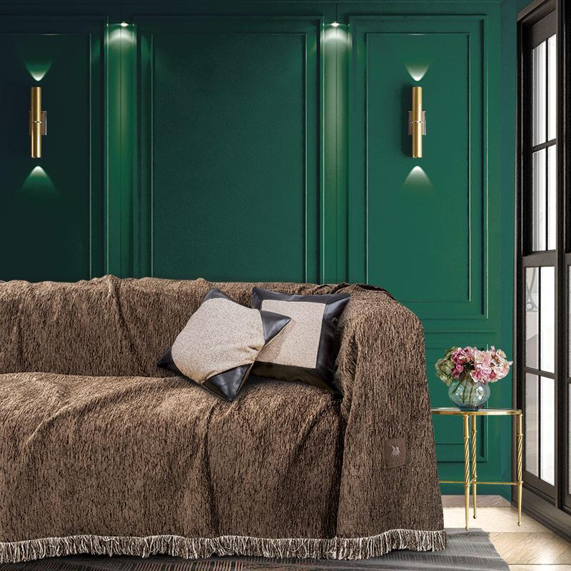 Ριχτάρι Τριθέσιου 180×300 Greenwich Polo Club Premium 2722 Καφε