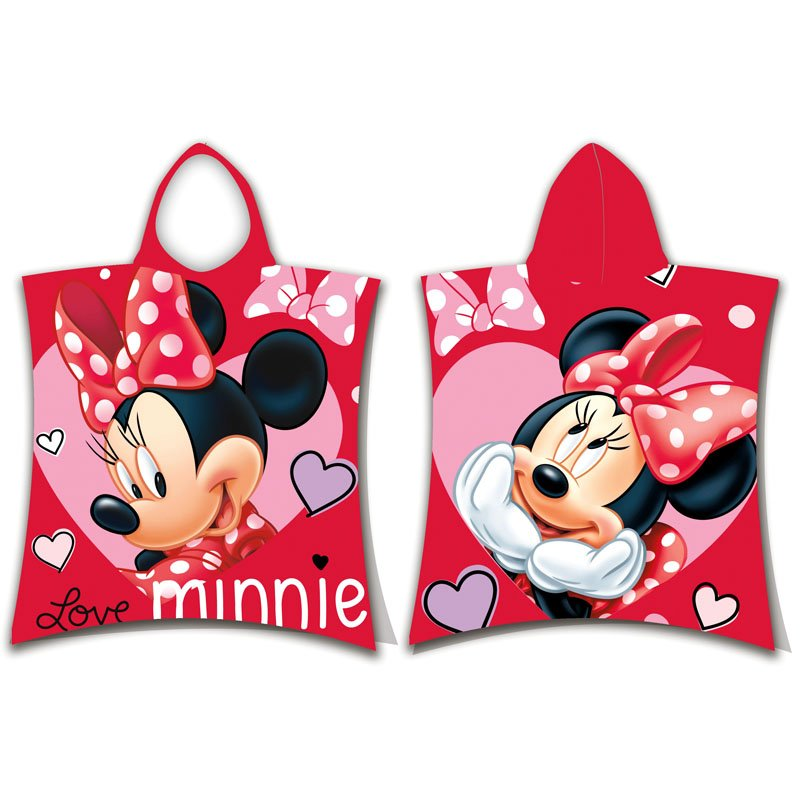 Παιδικό Poncho 50X115 Disney Dimcol Minnie 05