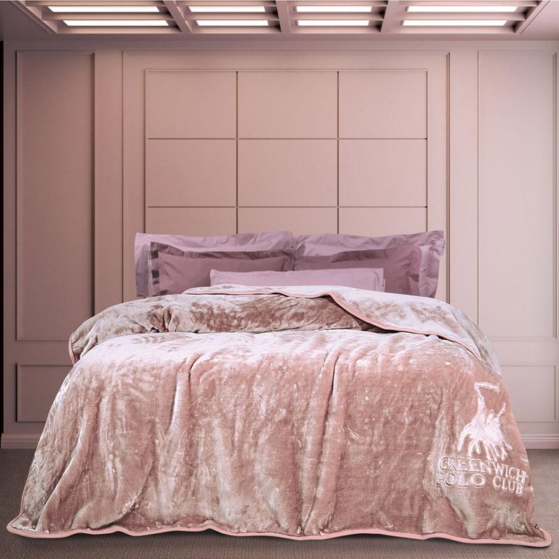 Κουβέρτα Βελουτέ Μονή 160X240 Greenwich Polo Club Essential 2453