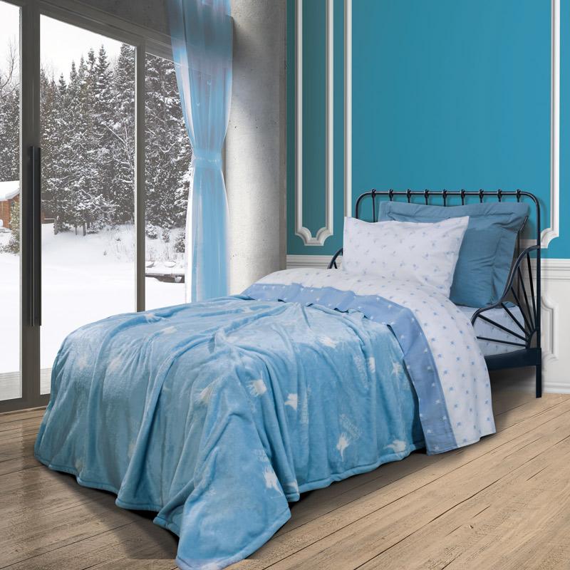 Κουβέρτα Fleece Μονή 160×220 Greenwich Polo Club Essential 2904 Μπλε