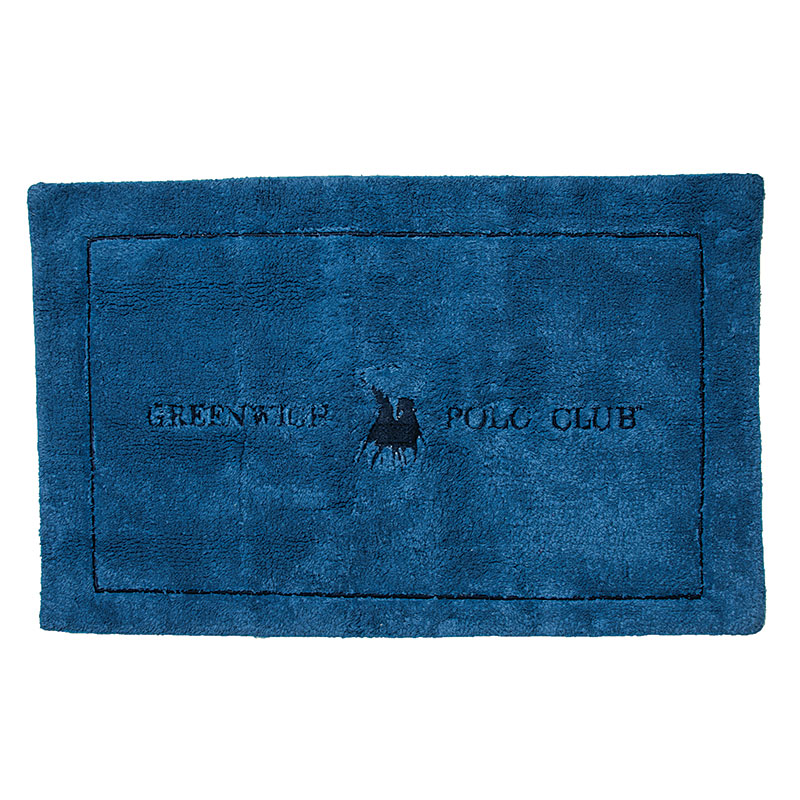 Πατάκι Μπάνιου 50×80 Greenwich Polo Club Bathmats 2576 Μπλε