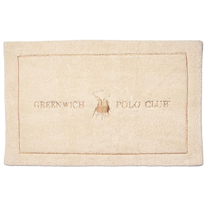 Πατάκι Μπάνιου 50×80 Greenwich Polo Club Bathmats 2577 Μπεζ