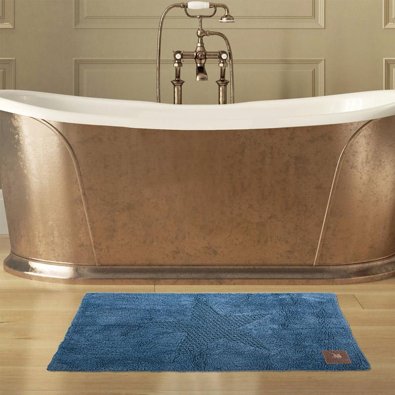 Πατάκι Μπάνιου 60X90 Greenwich Polo Club Bathmats 2578 Σιελ