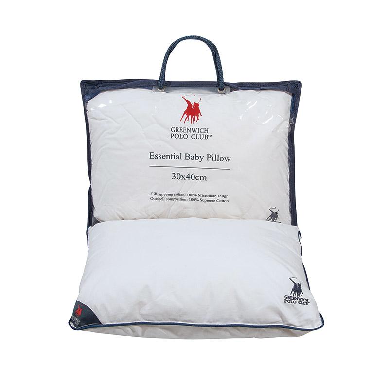 Μαξιλάρι Ύπνου 30×40 Greenwich Polo Club Essential 2981 Λευκο