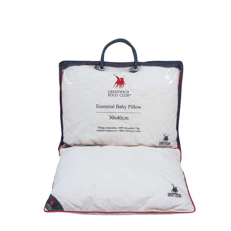 Μαξιλάρι Ύπνου 30×40 Greenwich Polo Club Essential 2982 Λευκο