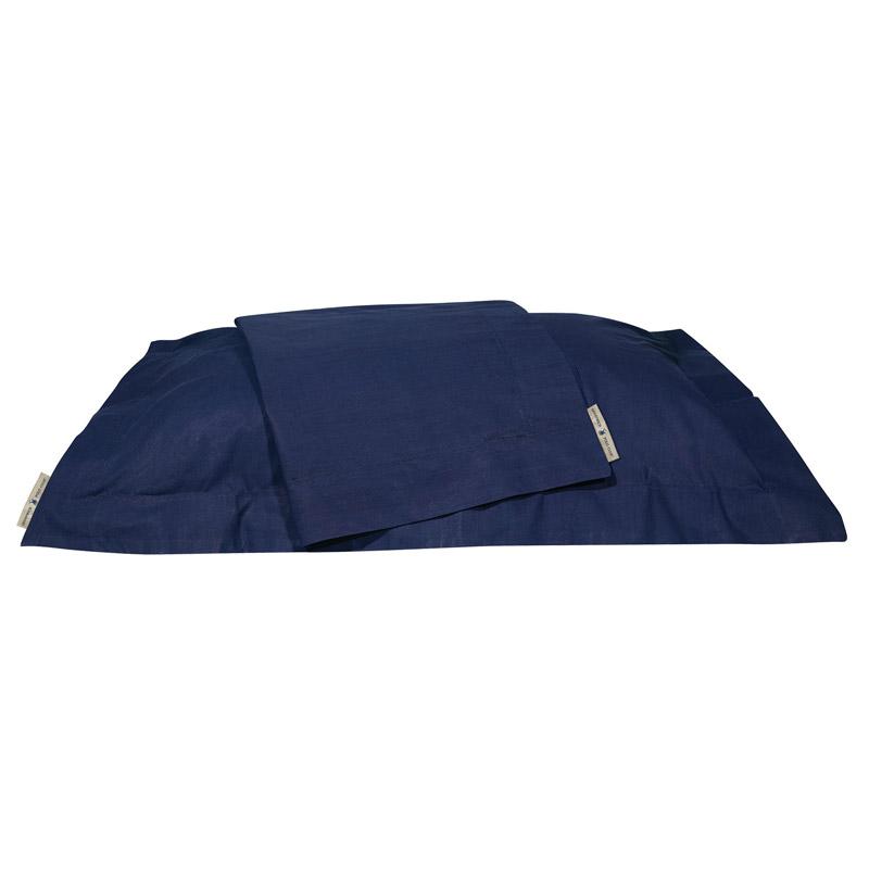 Σεντόνι Μεμονωμένο King Size 270X280 Greenwich Polo Club Premium 2209 Navy Χωρίς Λάστιχο