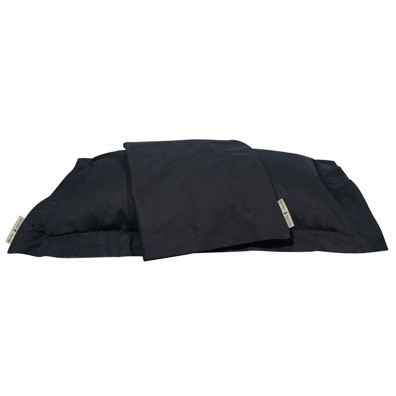 Σεντόνι Μεμονωμένο King Size 270X280 Greenwich Polo Club Premium 2210 Μαύρο Χωρίς Λάστιχο