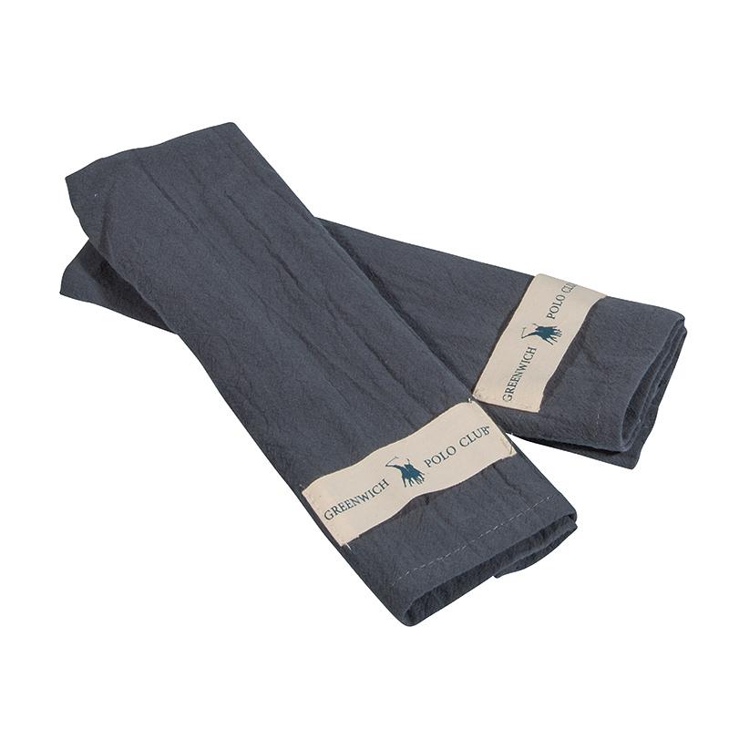 Πετσέτες Κουζίνας (Σετ 2 Τμχ) 30×45 Greenwich Polo Club Essential 2651 Μπλε