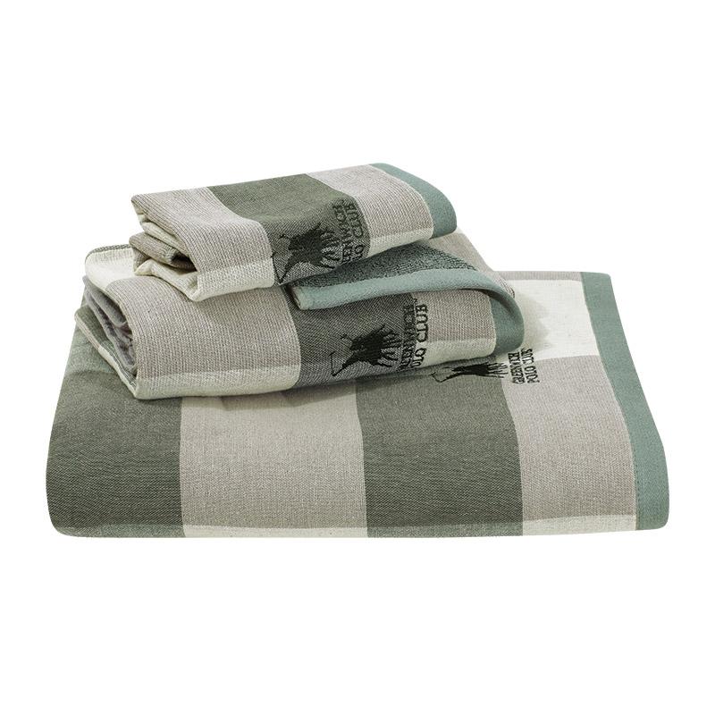 Πετσέτες Μπάνιου (Σετ 3 Τμχ) Greenwich Polo Club Essential 2522 Βεραμαν