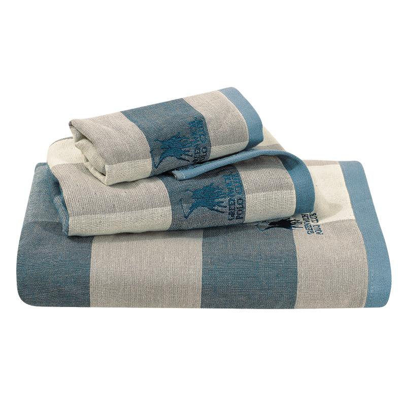 Πετσέτες Μπάνιου (Σετ 3 Τμχ) Greenwich Polo Club Essential 2523 Μπλε