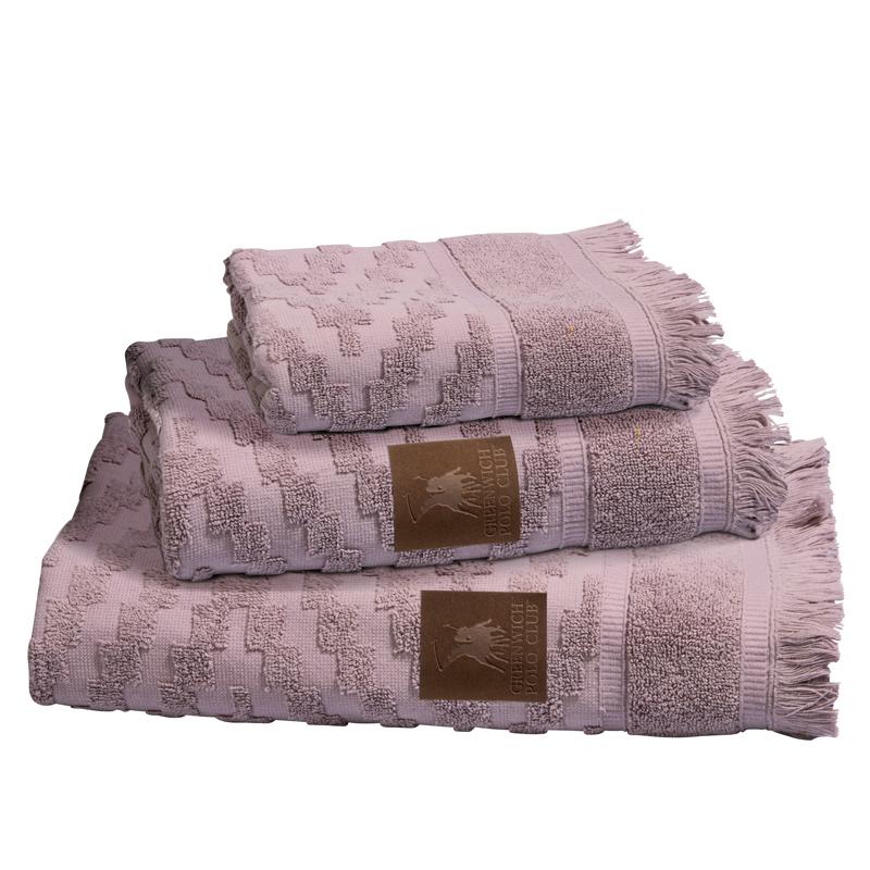 Πετσέτες Μπάνιου (Σετ 3 Τμχ) Greenwich Polo Club Essential 2530 Λιλα