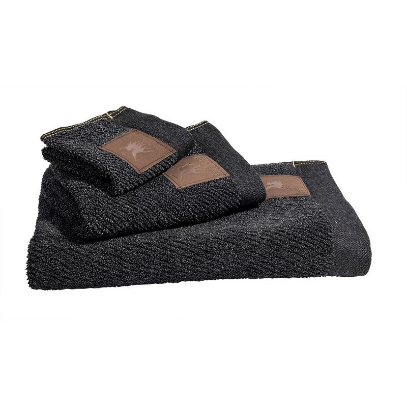 Πετσέτες Προσώπου (Σετ 2 Τμχ) 50×90 Greenwich Polo Club Essential 2525 Γκρι