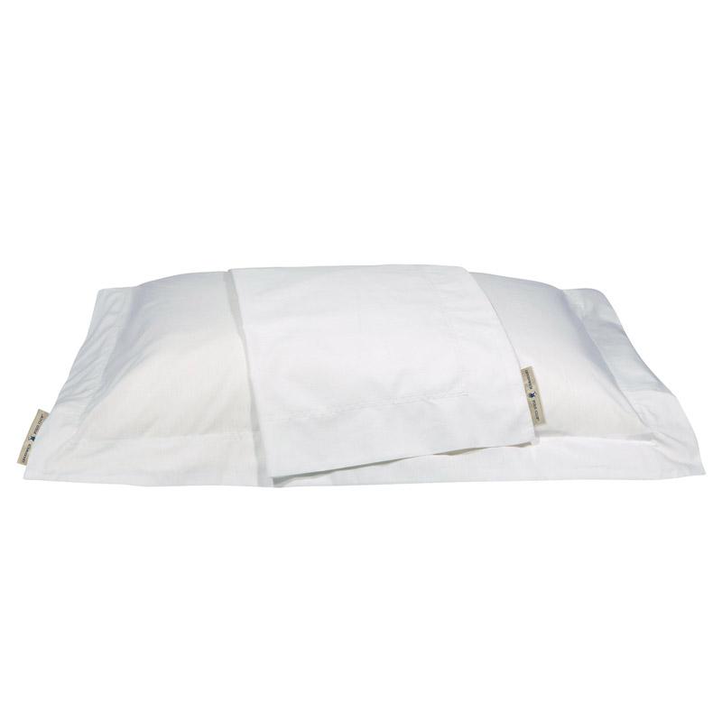 Ζεύγος Μαξιλαροθήκες Oxford 50X70 Greenwich Polo Club Premium 2211 Λευκό