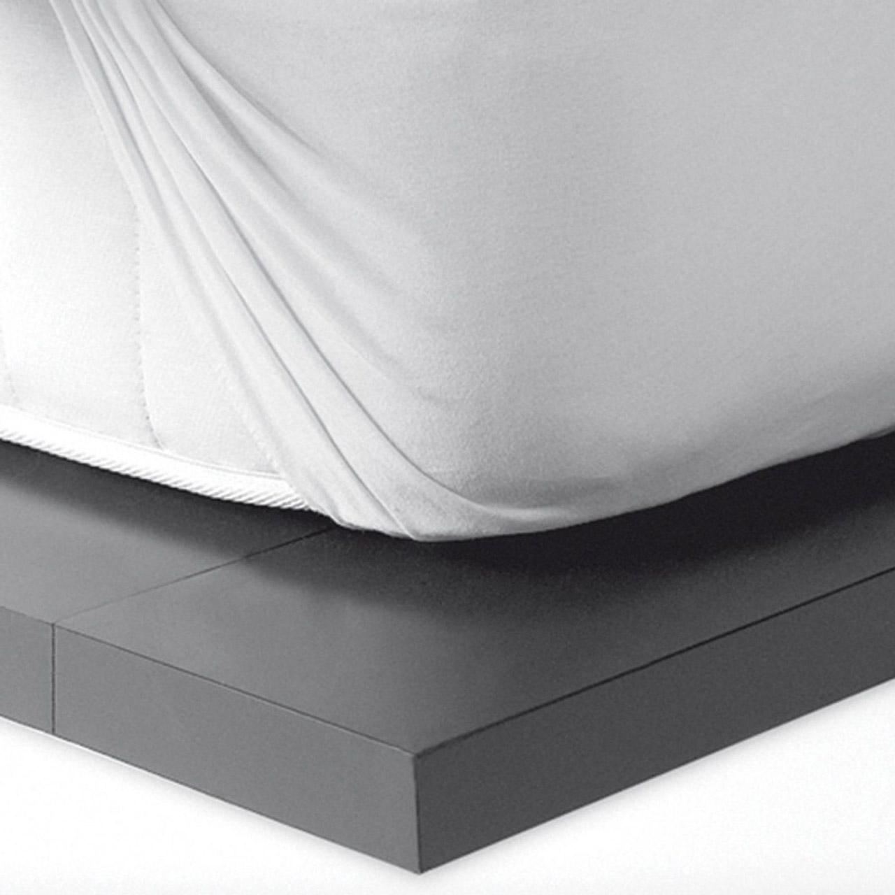 Αδιάβροχο Επιστρώμα Ημίδιπλο 130X200 Kentia Αccesories Cotton Cover130 Λευκό