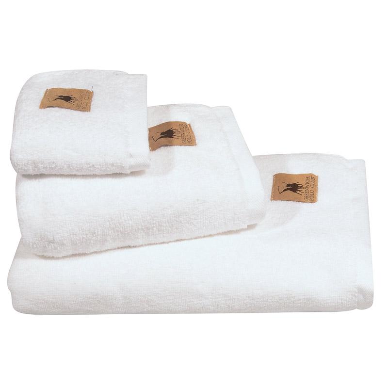 Πετσέτα Χεριών 30X50 Greenwich Polo Club Essential 2550 Λευκό