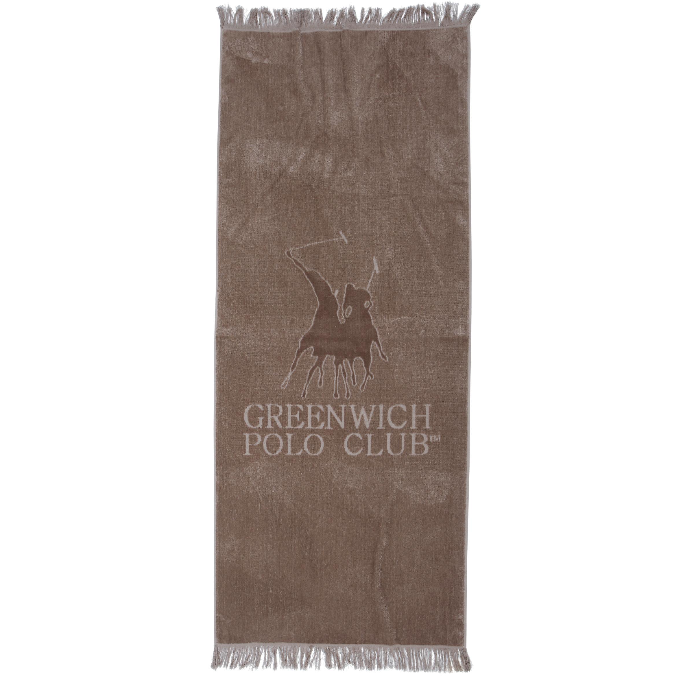Πετσέτα Θαλάσσης 70×170 Greenwich Polo Club Essential 2811 Μπεζ