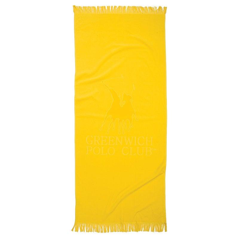 Πετσέτα Θαλάσσης 70×170 Greenwich Polo Club Essential 2841 Κιτρινο