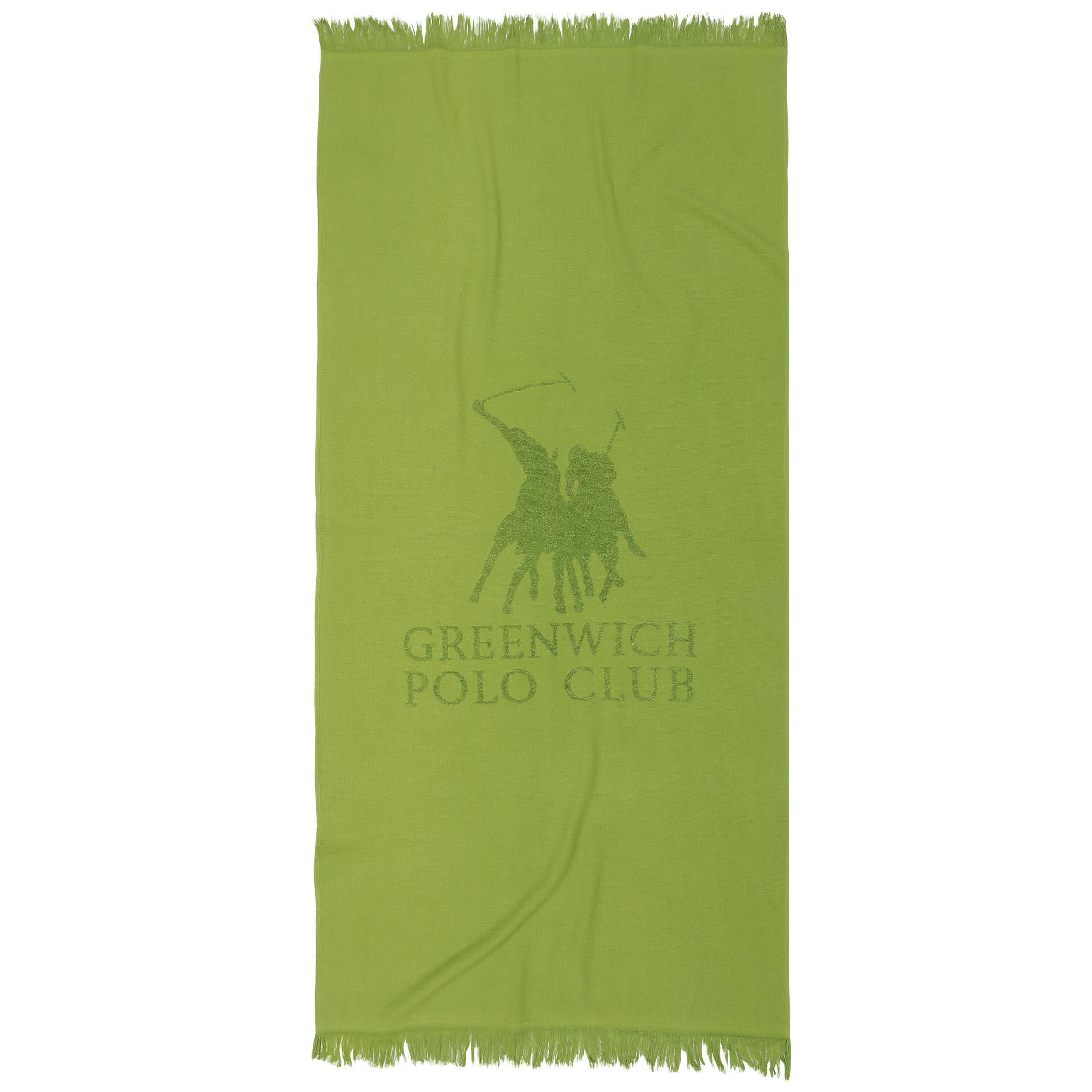 Πετσέτα Θαλάσσης 80×170 Greenwich Polo Club Essential 2828 Λαχανι