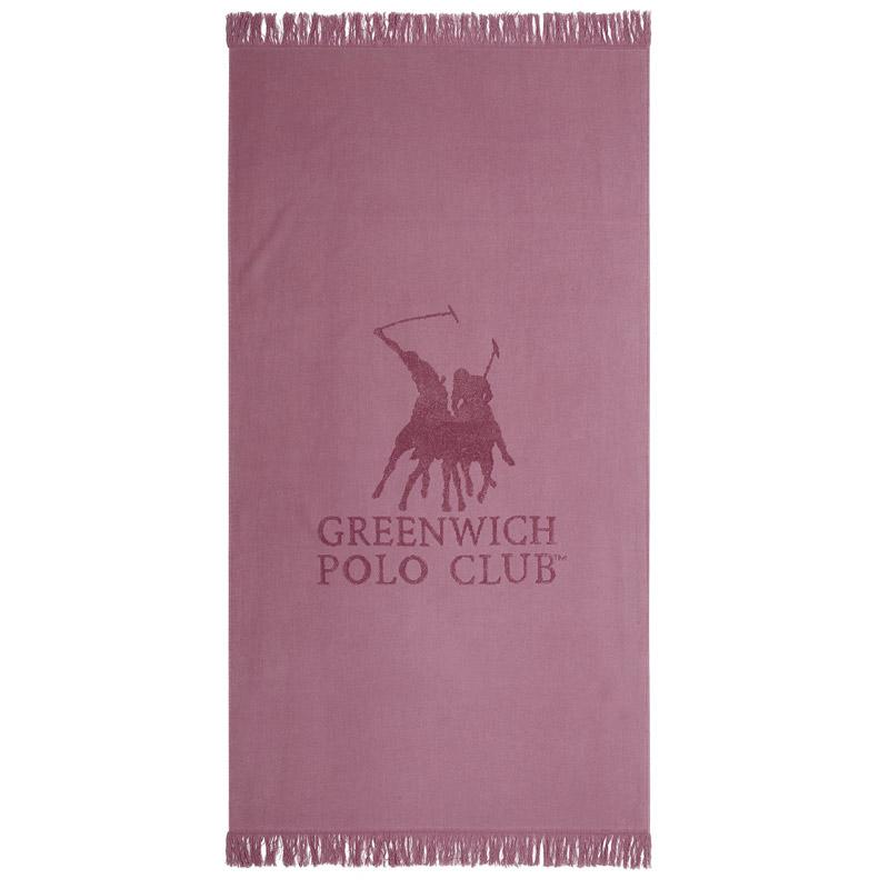 Πετσέτα Θαλάσσης 80X170 Greenwich Polo Club Essential 3531 Ροζ