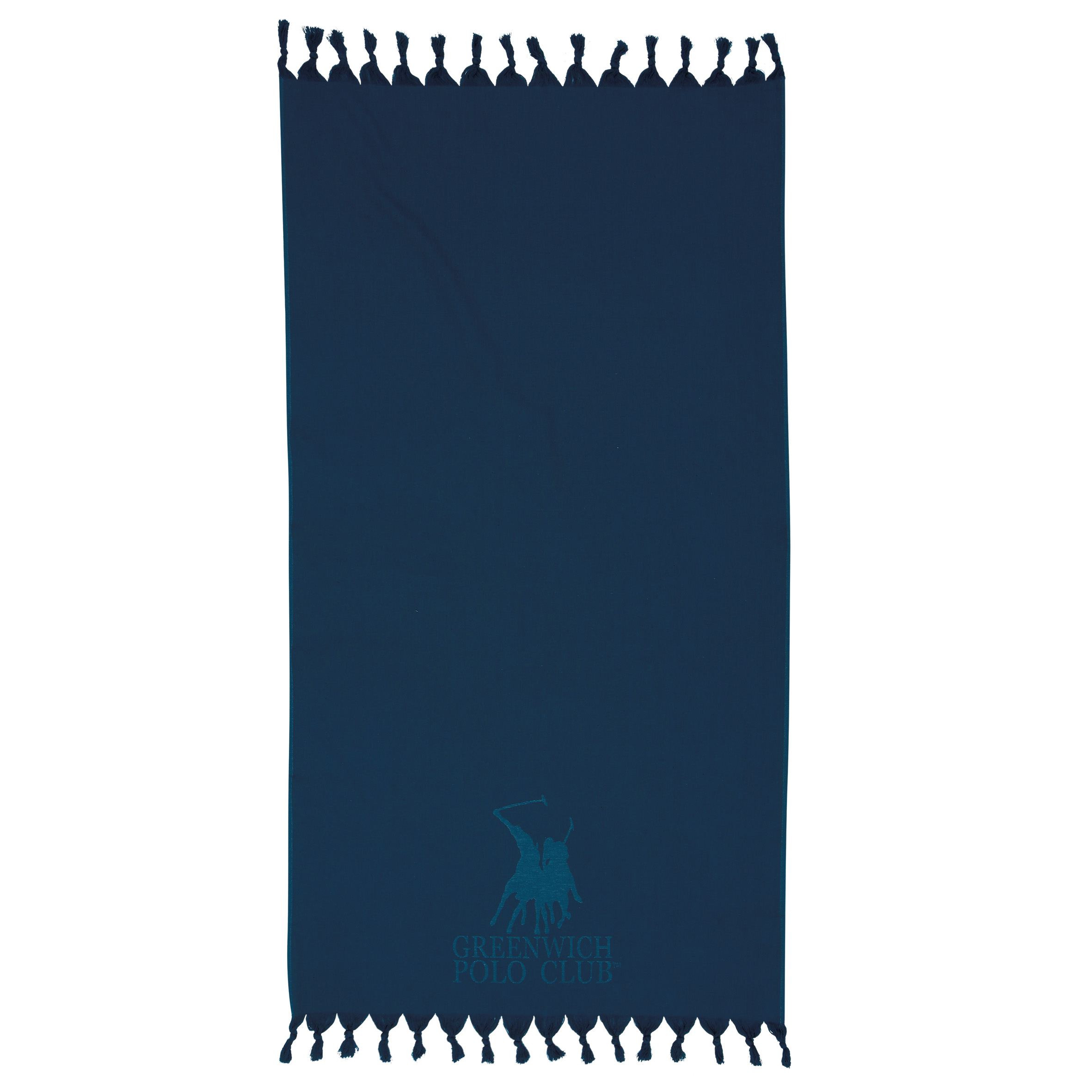 Πετσέτα Θαλάσσης 90×170 Greenwich Polo Club Essential 2815 Μπλε