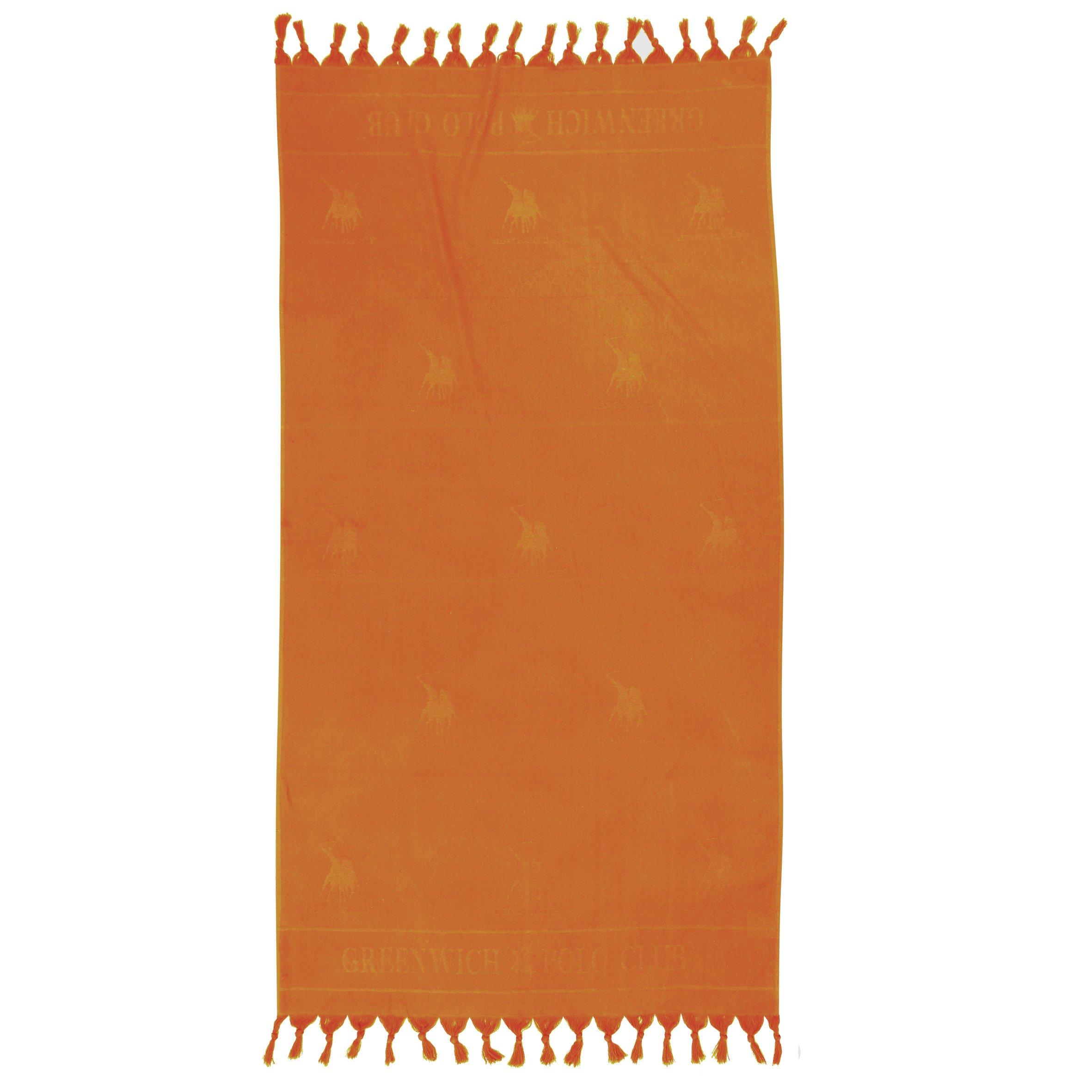 Πετσέτα Θαλάσσης 90×170 Greenwich Polo Club Essential 2818 Πορτοκαλι