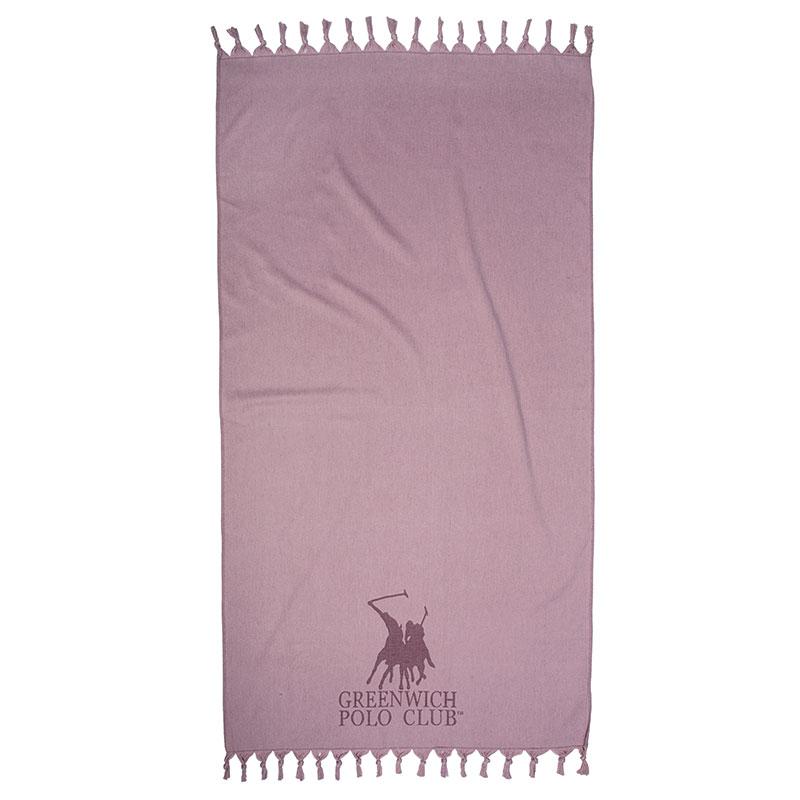 Πετσέτα Θαλάσσης 90×170 Greenwich Polo Club Essential 2844 Nude