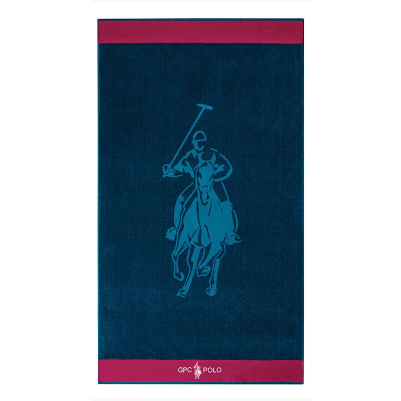 Πετσέτα Θαλάσσης 90×170 Greenwich Polo Club Essential 3540